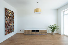 Contemporary house interior Royalty Free Stock Image