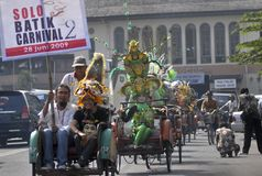 CONTEMPORARY INDONESIAN CULTURE Stock Image