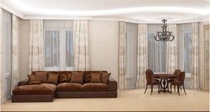 Contemporary Interior Royalty Free Stock Photo