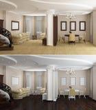 Contemporary Interior Royalty Free Stock Photos
