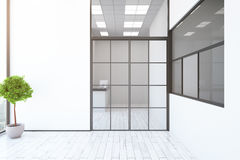 Contemporary interior with reception Stock Images