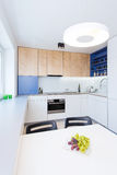 Contemporary kitchen interior Stock Image