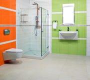 Contemporary lavatory Stock Photo