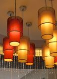 Contemporary light chandelier Royalty Free Stock Photography