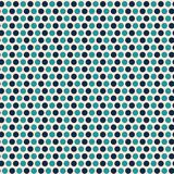 Contemporary light and dark blue polka dot seamless vector pattern with a cool vibe. Great for packaging, as coordinate stock illustration