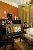 Contemporary living room. Royalty Free Stock Image