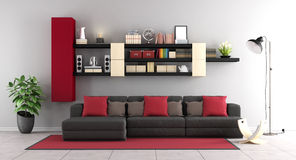 Contemporary living room Royalty Free Stock Image