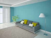 Contemporary  living room. Stock Images