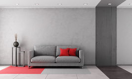 Contemporary living room Stock Photos