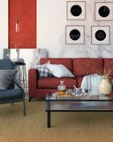 Contemporary living room in moz stock photography
