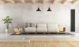 Contemporary living room Stock Photos