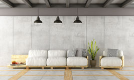 Contemporary living room Stock Image
