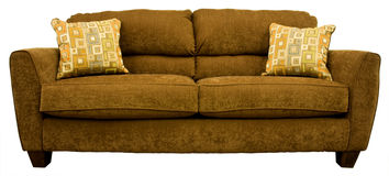 Contemporary Living Room Sofa Stock Images