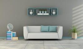 Contemporary living room Royalty Free Stock Photos