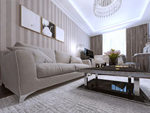 Contemporary Living Style Royalty Free Stock Images