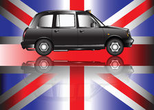 Contemporary London taxi Stock Images