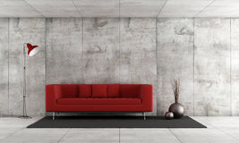 Contemporary lounge Stock Photos