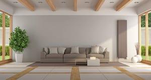 Contemporary lounge Stock Photos