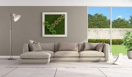 Contemporary lounge Stock Images