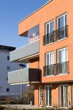 New luxury apartment buildings, penthouse stock images
