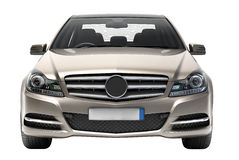 Contemporary luxury car isolated Stock Photo