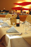 Contemporary luxury restaurant Stock Image