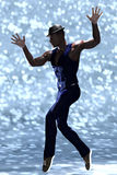 Contemporary male dancer Stock Images