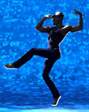 Contemporary male dancer Royalty Free Stock Photography