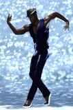 Contemporary male dancer Royalty Free Stock Photos