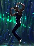 Contemporary male dancer Stock Photo