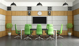 Contemporary meeting room Stock Photo