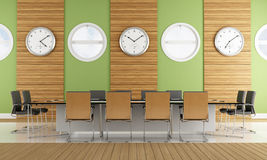 Contemporary meeting room Royalty Free Stock Images