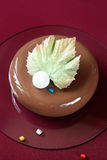 Contemporary Mousse Cake Royalty Free Stock Image