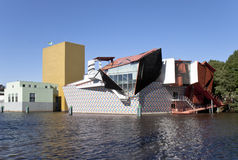 Contemporary Museum in Groningen, the Netherlands stock image