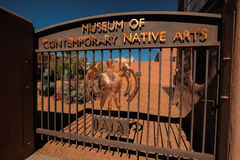 Contemporary Native American Art Museum, Santa Fe royalty free stock images