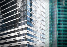 Contemporary office buildings Royalty Free Stock Photo