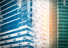 Contemporary office buildings Royalty Free Stock Images