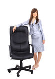 Contemporary office chair Stock Images