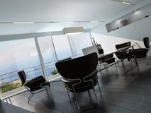 Contemporary office conference room interior Royalty Free Stock Photos