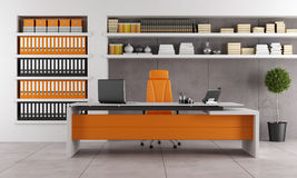 Contemporary office Stock Image