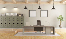 Contemporary office space Stock Images