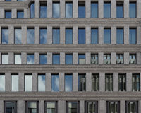 Contemporary offices building facade Stock Images