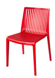 Contemporary plastic chair Royalty Free Stock Photos
