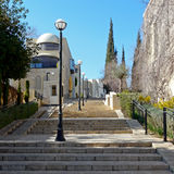 Contemporary quarter in Jerusalem, West of the old town Royalty Free Stock Images