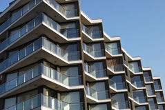 Contemporary residential building Stock Image