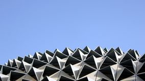 Contemporary and Dynamic Roof royalty free stock photo
