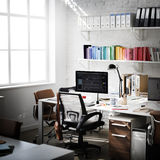 Contemporary Room Workplace Office Supplies Concept Royalty Free Stock Photos