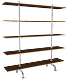 Contemporary shelving Stock Photos