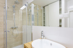 Contemporary shower Royalty Free Stock Photo