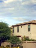 Single Family House, Phoenix, AZ Royalty Free Stock Images